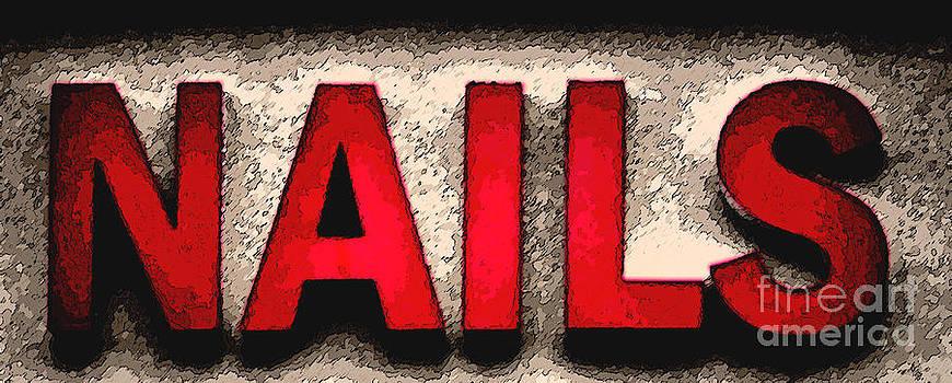 Red Nails  by Juls Adams