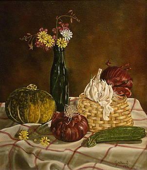 Red Onion by Cynthia Snider