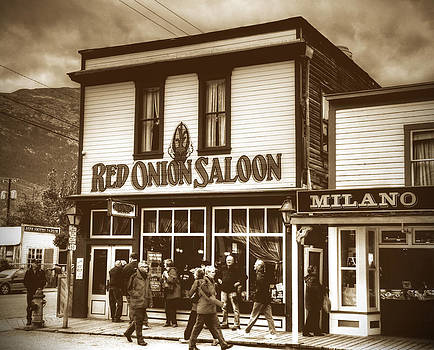 Red Onion Saloon by Alex Kossov