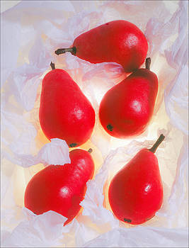 Red Pears by Morocco Flowers Images