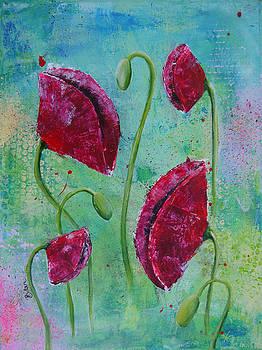 Red Poppies by Bitten Kari