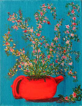 Red Pot by Susan Ruopp