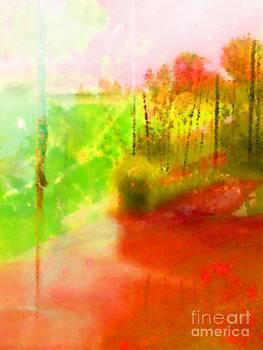 Red River by Zsuzsa Lado