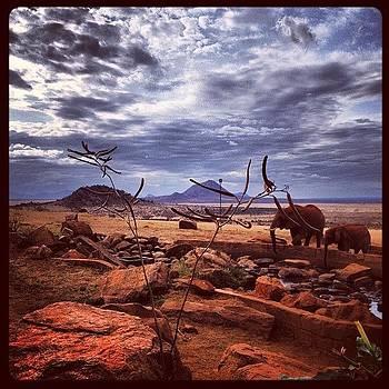 Red Rock Ruin by Sam Harris