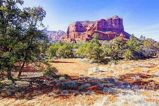 James Steele - Red Rocks in Sedona AZ