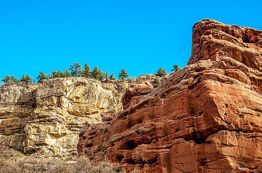 Red Rocks View 002 by Todd Soderstrom