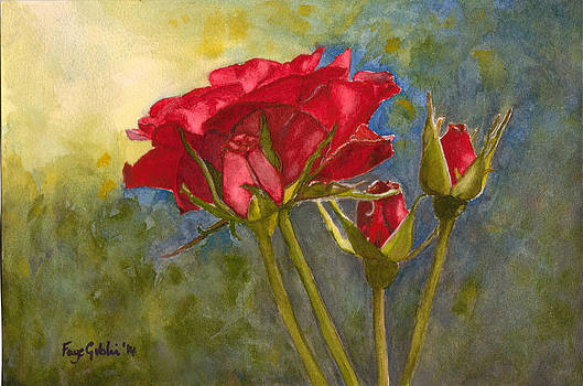 Red Roses For You by Faye Giblin