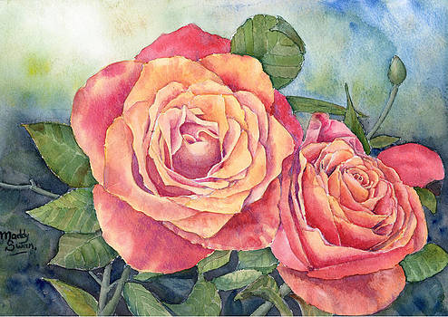 Red Roses no.2 by Maddy Swan