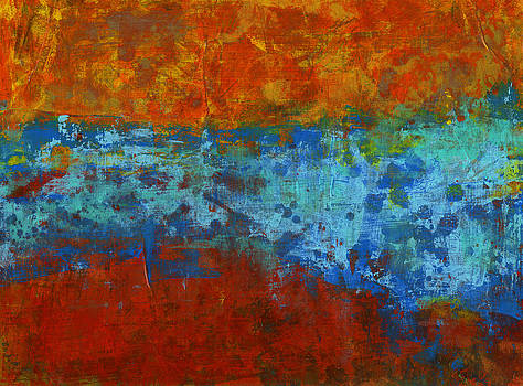 Red Series I by Douglas Lail