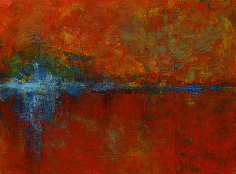 Red Series IV by Douglas Lail