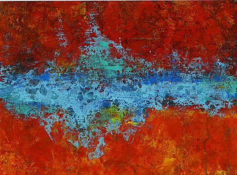 Red Series VI by Douglas Lail