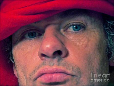 Red Sheik or Doctor Faustus or Brown Sugar. Selfie. by  Andrzej Goszcz