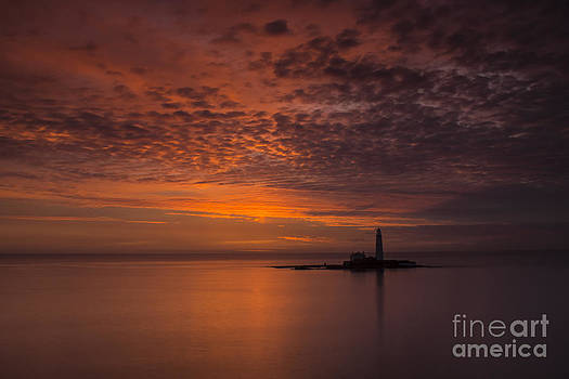 Red Sky in the Morning by George Davidson