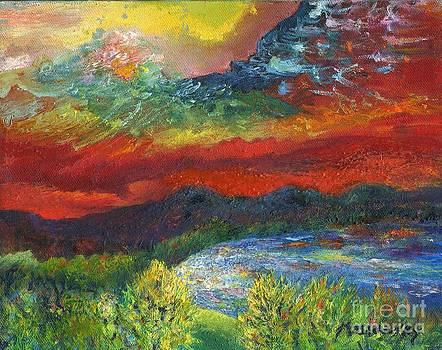 Red Sky in the Morning by Myra Maslowsky