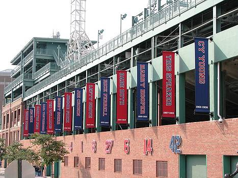 Red Sox Heroes by Sue  Thomson