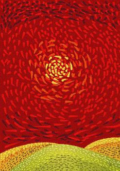 Red Sun by Sergey Khreschatov
