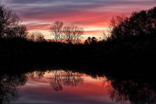Jeff Burton - Red Sunrise