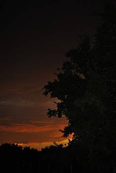 Red Sunrise by Ken Rutledge