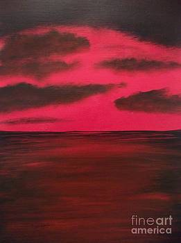Red Sunset by Michelle Treanor