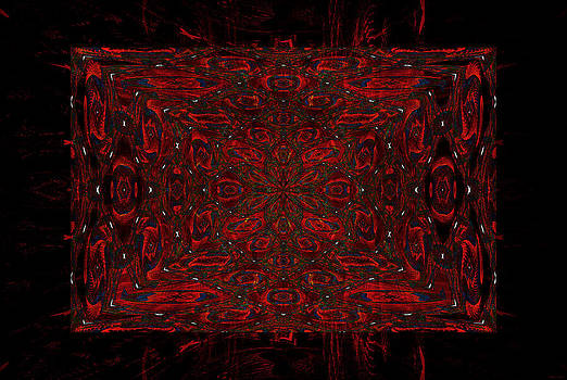 Red Tapestry by Gillian Owen