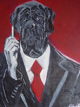 Red Tie by Kumar Yaman