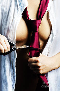 Red Tie by Jelena Jovanovic