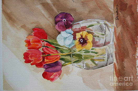 Red Tulips by Bill Dinkins