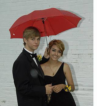 red Umbrella by Hugh Peralta