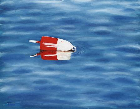 Red White and Buoy by Patricia Crowley