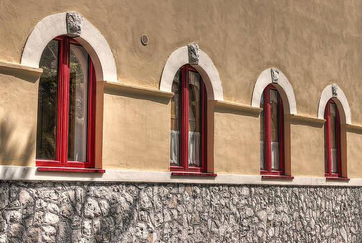 Red Windows by Leonardo Marangi