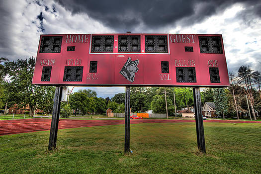 Redford High School by Dave Manning at Color Me Blue Photo