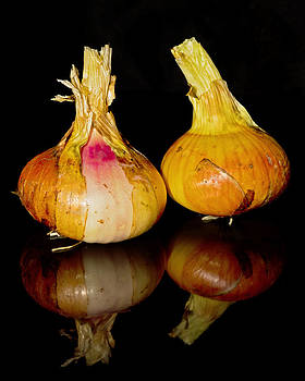 Reflected Onions  by Pete Hemington