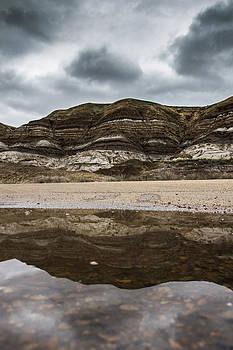 Reflection at the Hoodoos  by Maik Tondeur