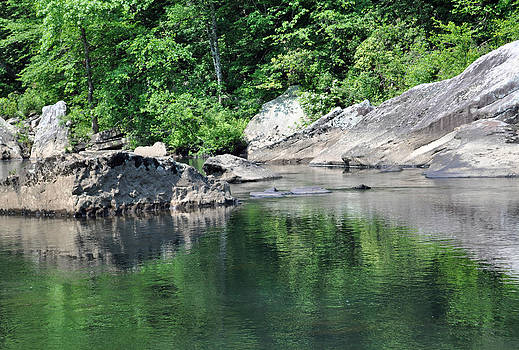 Reflection in Little River Canyon National Preserve by Bruce Gourley