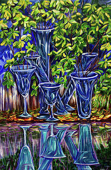Reflection in the glass by Yelena Rubin