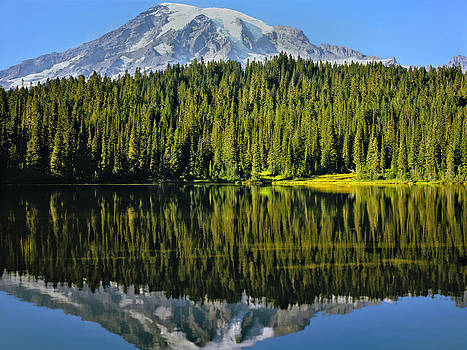 Reflection Lake Mount Rainier by Matthew Ahola