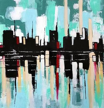 Reflection Skyline by John Chehak