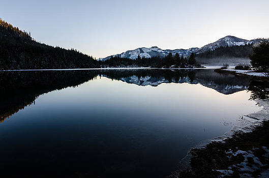 Reflections at Gold Creek Pond by Brian Xavier