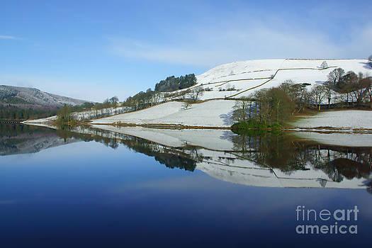 Reflections at Ladybower by David Birchall