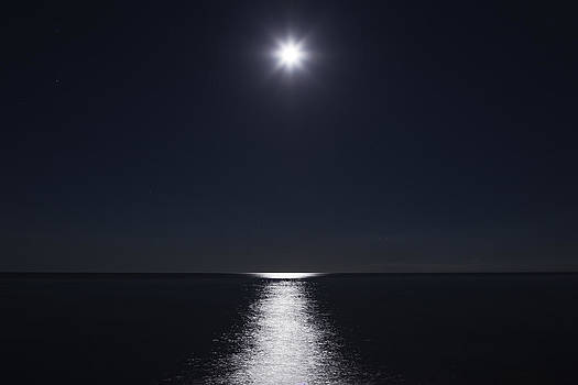 Reflections from Full Moon by Alfredo Rougouski