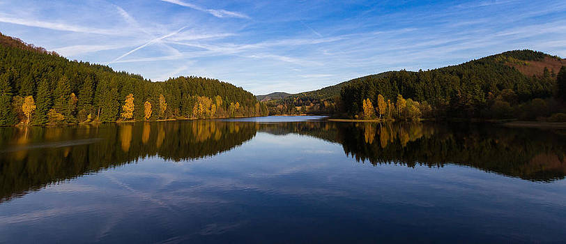 Reflections of Autumn by Andreas Levi