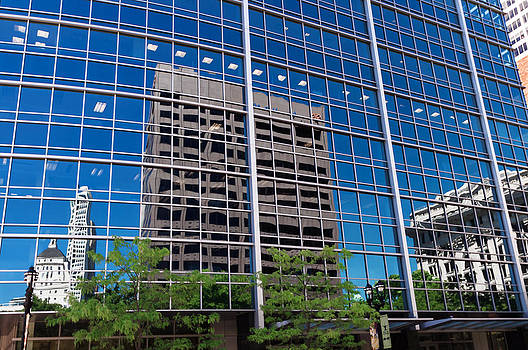 Reflections of Milwaukee by Paul Plaine