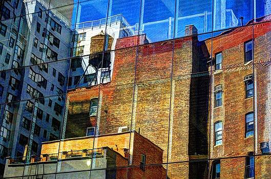 Reflections on 9th Street by Lucia Vicari