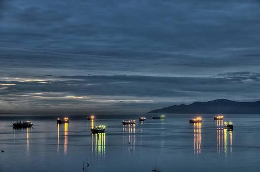 Reflections Sunset by Doug Farmer