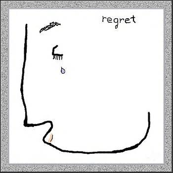 Regret by Mathilde Vhargon
