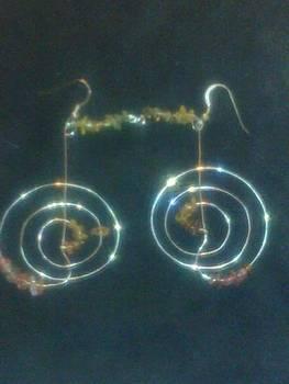 Reiki Healing Earrings by Lyra's Prism