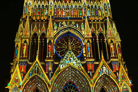 Reims lightshow by Erik Tanghe