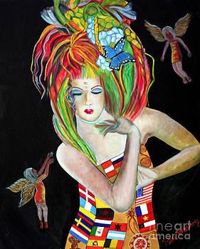 Reina de los Angelitos by Pilar  Martinez-Byrne