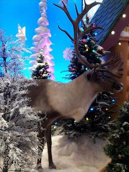Reindeer by Michelle Frizzell-Thompson