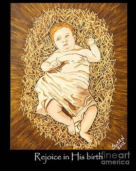 Rejoice Baby Jesus by Susan Cliett